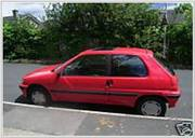 Peugeot 106 Xl – Automatic – Red - S reg